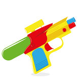 Cartoon Water Gun Isolated On White Background Royalty Free Stock Images