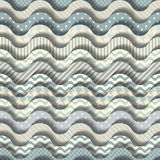 Cartoon waves pattern Stock Photos