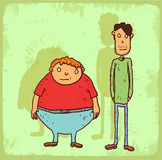 Cartoon weight illustration, vector icon Stock Photo
