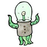 Cartoon weird alien Stock Photo
