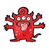 Cartoon weird monster Royalty Free Stock Photography