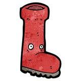cartoon wellington boot Stock Photography