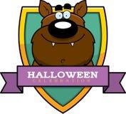 Cartoon Werewolf Halloween Graphic Stock Images