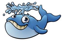 Cartoon Whale Royalty Free Stock Photos