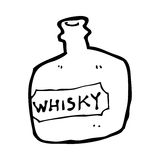 Cartoon whisky jar Stock Photo