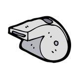cartoon whistle Stock Image