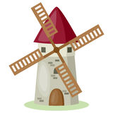 Cartoon Windmill Royalty Free Stock Image