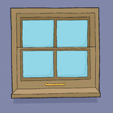Cartoon Window Royalty Free Stock Photo