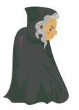 A cartoon witch Stock Photo
