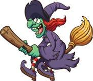 Cartoon witch Stock Photos
