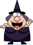 Cartoon Witch Idea Stock Images