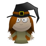 Cartoon Witch Stock Images