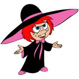 Cartoon witch Magica Royalty Free Stock Photography