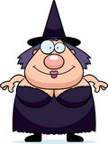 Cartoon Witch Smiling Royalty Free Stock Photo
