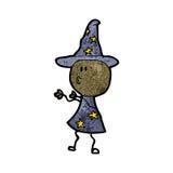 Cartoon wizard Royalty Free Stock Photography