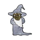 Cartoon wizard Stock Image