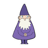 Cartoon wizard Stock Photo