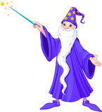 Cartoon wizard Royalty Free Stock Photo