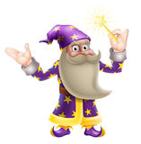 Cartoon Wizard Stock Photography