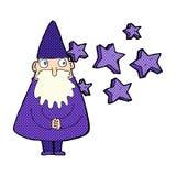 Cartoon wizard Royalty Free Stock Image