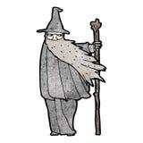 Cartoon wizard Stock Photography
