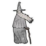 Cartoon wizard Stock Photos