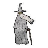 Cartoon wizard Royalty Free Stock Photo