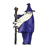 Cartoon wizard Royalty Free Stock Images