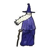 Cartoon wizard Stock Images