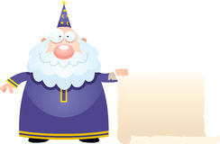 Cartoon Wizard Sign Stock Photo