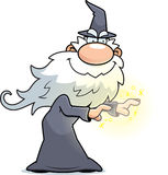Cartoon Wizard Spell Royalty Free Stock Image
