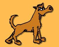 Cartoon wolf Royalty Free Stock Photo
