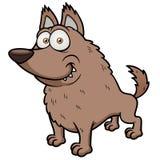 Cartoon wolf Royalty Free Stock Image
