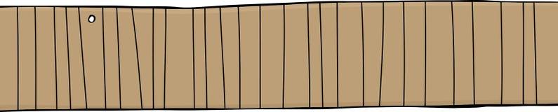 Wooden fence cartoon stock photo image