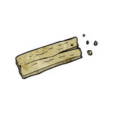 Cartoon wooden peg Stock Photography