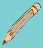 Cartoon wooden pen Stock Photography