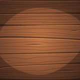 Cartoon wooden surface. Cartoon illustration of the wooden surface with planks Royalty Free Stock Photography