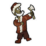 Cartoon woodsman Stock Image