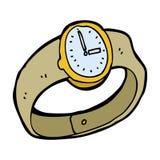 cartoon wrist watch Stock Photos