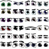 Cartoon 24x eyes Stock Image