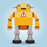 Classic robot 2 Royalty Free Stock Images