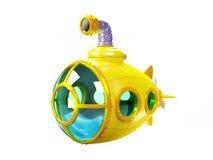 Cartoon yellow submarine Stock Photo