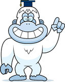 Cartoon Yeti Professor Stock Photos
