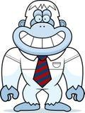Cartoon Yeti Tie Stock Photos