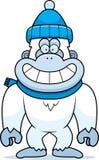 Cartoon Yeti Winter Royalty Free Stock Photography