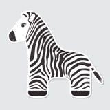 Cartoon Zebra Royalty Free Stock Images