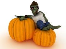 Cartoon Zombie Character Royalty Free Stock Image