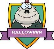 Cartoon Zombie Halloween Graphic Stock Image
