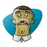 Cartoon zombie. Illustration of a cartoon zombie Stock Images