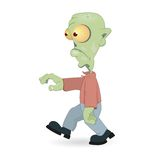 Cartoon zombie Royalty Free Stock Photography